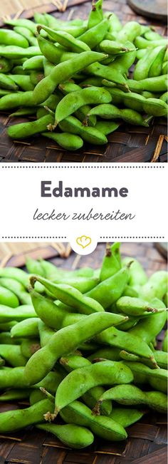 Edamame sind der perfekte Ersatz für Chips und Co. Wir haben alle wichtigen Inf… Edamame are the perfect substitute for chips and co. We have all the important info on the salty Japanese snack and delicious edamame recipes. Healthy Vegan Snacks, Healthy Recipes, Edamame Pasta, Low Carb Chips, Vegan Smoothies, Going Vegan, Veggie Recipes, Superfood, Food And Drink