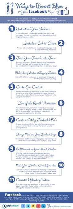 11 Ways to Get More Likes on Your Facebook Page | #facebook #facbooktips #facebooklikes