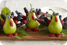 Berry Turkeys Food art