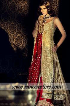 Design HER1197, Product code: HER1197, Bridal Pakistani Fashion in 2013, Bridal couture week 2013, Sharara Fashion Pakistan