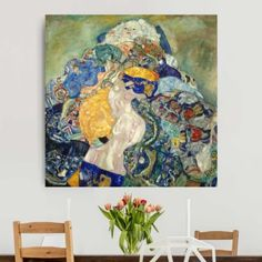 Leinwandbild Gustav Klimt - Kunstdruck Baby (Wiege) - Jugendstil 80x80-55.00-LB-1-1 Jetzt bestellen unter: https://moebel.ladendirekt.de/dekoration/bilder-und-rahmen/poster/?uid=f152507e-63a2-5c52-91e2-9a2970767b90&utm_source=pinterest&utm_medium=pin&utm_campaign=boards #heim #bilder #rahmen #poster #dekoration