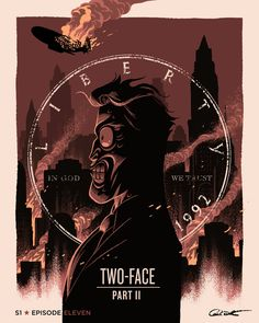 Batman The Animated Series Episode 11; Two-Face Part II - George Caltsoudas