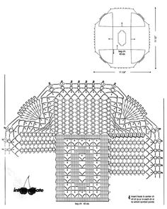 Deckchen häkeln - crochet doily......