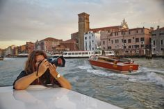 Catch the gorgeous golden light of Venice at sunset with a private Photo Tour