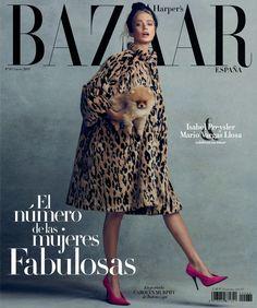 Carolyn Murphy, Fashion Magazine Cover, Fashion Cover, Magazine Covers, Paolo Roversi, Spain Fashion, Look Fashion, Womens Fashion, Revista Bazaar