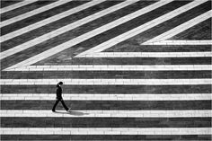 """Structure"",street photography by Kai Ziehl Bw Photography, People Photography, Abstract Photography, Amazing Photography, Street Photography, Fashion Photography, Black And White Landscape, Black N White Images, Black And White Portraits"