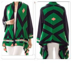 Diamond shaped cardigan Diamond shaped cardigans Sweaters Cardigans