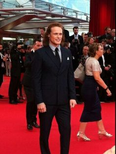 Sam Heughan at The Monte Carlo Festival.