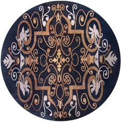 Marble Mosaic Pattern Tile Stone Art Floor Wall Table