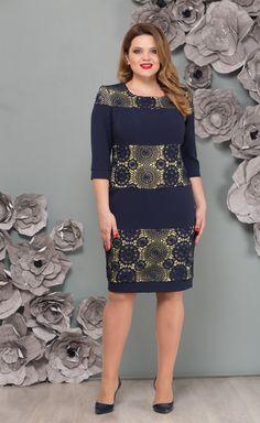 9688c1559c99c6e Стильная одежда для полных дам: деловые платья и костюмы. Фото ...