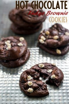 "Guilt Free #Dessert #Recipes | Baking Beauty  Not exactly ""healthy"" but a lower fat cookie if you need a fix."