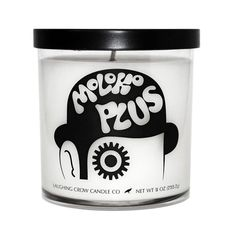 """A Clockwork Orange Candle """"MOLOKO PLUS"""" - Alex DeLarge / Movie Inspired Jar Candle by Laughing Crow Candle Co by LaughingCrowCandleCo on Etsy https://www.etsy.com/listing/502077814/a-clockwork-orange-candle-moloko-plus"""