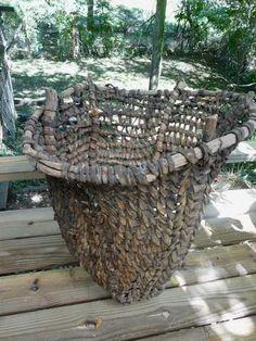 TARAHUMARA INDIAN BURDEN BASKET