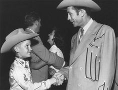 Hank Williams and Fan, early 1950s | Flickr - Photo Sharing!