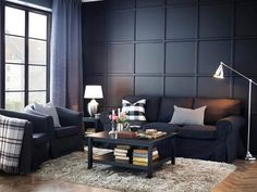 Go classic and sophisticated with our EKTORP sofa and armchairs.
