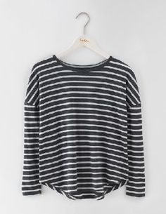 Boden Featherweight Relaxed Tee Charcoal Marl/Ivory Our new featherweight top will put you into relax mode in no time. This lightweight essential features a loose cut and is easy to layer with, well, almost anything. Tees, camis, vests - the skys the l http://www.MightGet.com/january-2017-13/boden-featherweight-relaxed-tee-charcoal-marl-ivory.asp