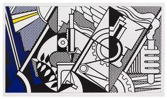 Roy Lichtenstein, (American, 1923-1997), Peace Through Chemistry, 1970