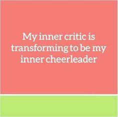 . #inner #cheerleader #critic
