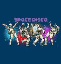 Disco party astronauts dancing men and women vector Free Vector Images, Vector Free, Brunette Woman, Disco Party, Astronauts, Dancing, Royalty, Artist, Women