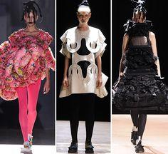 Image result for comme des garcons futuristic fashion Futuristic, Ideias Fashion, Runway, Ruffle Blouse, Mood, Inspiration, Image, Women, Cat Walk