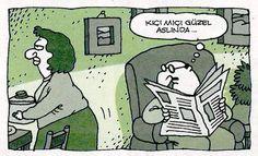 Kıçı mıçı güzel aslında... #karikatür #mizah #matrak #komik #espri #şaka #gırgır #komiksözler