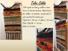 Lana, Earth Tones, Fabrics, Tejidos