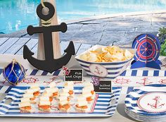 Hook them in with a stylish nautical celebration!