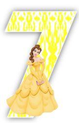 Alfabeto Bella con vestido amarillo. | Oh my Alfabetos!