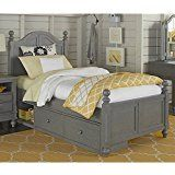 NE Kids Lake House Payton Twin Arch Storage Bed in Stone deals week