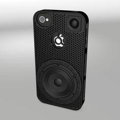 3d printed iphone black case