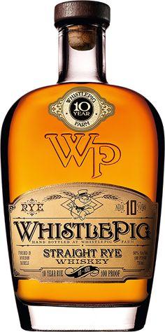 Rye Whiskey: WhistlePig Straight Rye Whiskey