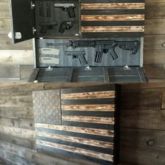 Exclusive - diy gun safe art - Yahoo Image Search Results Fight for your Second Amendment rights with our exclusive IPac T-shirt! Grab your FREE T-shirt below. Hidden Gun Storage, Weapon Storage, Tool Storage, Secret Gun Storage, Woodworking Plans, Woodworking Projects, Popular Woodworking, Woodworking Beginner, Woodworking Jointer