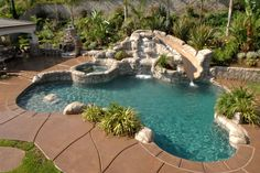 Everyone loves luxury swimming pool designs, aren't they? We love to watch luxurious swimming pool pictures because they are very pleasing to our eyes. Now, check out these luxury swimming pool designs. Swimming Pool Landscaping, Luxury Swimming Pools, Luxury Pools, Swimming Pools Backyard, Dream Pools, Swimming Pool Designs, Landscaping Ideas, Pool Spa, Islander Pools
