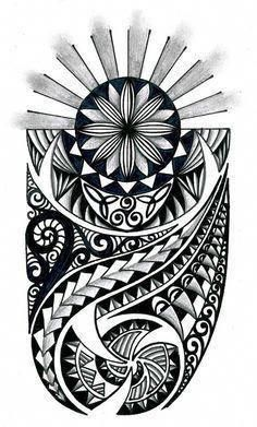 tongan tribal drawings polynesian tribal design with celtic - tribal tattoo sketch Maori Leg Tattoo, Celtic Tribal Tattoos, Hawaiianisches Tattoo, Samoan Tattoo, Forearm Tattoos, Buddha Tattoos, Thai Tattoo, Tongan Tattoo, African Tribal Tattoos