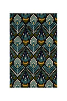 Love this rug. Very art deco and just the colors I need.