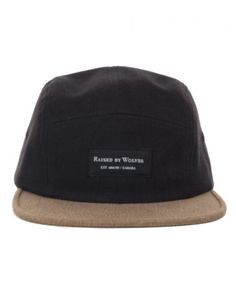 cc25ea51e7d0 Buy Bull Denim 5 Panel - Earth Black by Raised by Wolves from our  Accessories range - Blacks