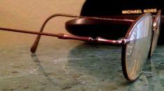 7245909ded Marchon Eyeglasses Flexon Copper Bronze Steampunk Made in Japan 51-18-135  Steampunk
