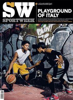 twitter Sportweek basket playground in Italy