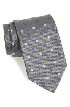 Men's David Donahue Silk Dot Tie