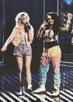 Perrie and Jesy from Little Mix