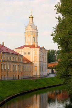 The Alexander Nevsky Monastery in Saint-Petersburg.
