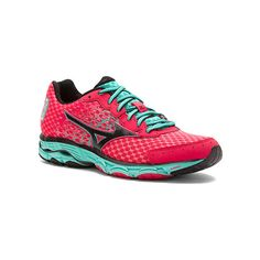 Mizuno Wave Inspire 11 ($110) ❤ liked on Polyvore featuring shoes, athletic shoes, women, strap shoes, traction for shoes, mizuno shoes, lightweight running shoes and mizuno footwear