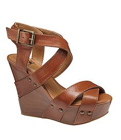 GB Gianni Bini Wrap-It Platform Wedge Sandals   Dillards.com Cute Shoes, Me Too Shoes, Ruby Red Slippers, Platform Wedge Sandals, Gianni Bini, Ootd Fashion, Dillards, Wedges, My Style
