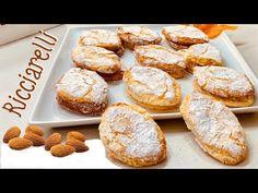 RICCIARELLI bollería típica navideña de almendras y naranja 🎄 rápido y fácil SIN GLUTEN - YouTube Cookie Desserts, Cookie Bars, Almond Pastry, Almond Cookies, Gluten Free Cookies, Biscuit Recipe, Vegan Sweets, How To Make Bread, Holiday Baking
