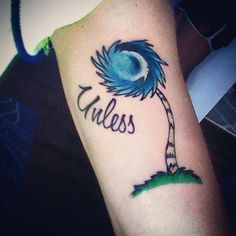 """'Dr. Seuss' The Lorax. """"Unless someone like you cares a whole awful lot, nothing is going to get better, it's not."""""""