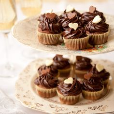 Who could resist these luxurious little cakes, made with our best-ever brownie recipe?