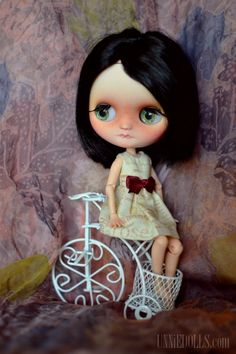 "CWC Exclusive Middie Blythe Doll x MILK /""Little Lilly Brown/"""