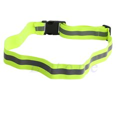 High Visibility Reflective Safety Security Belt Running Jogging Walking Biking Free Shipping-448E #Affiliate