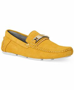 Calvin Klein Mario Suede Drivers - All Men's Shoes - Men - Macy's