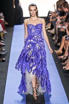 Monique Lhuillier at New York Fashion Week Spring 2012 - StyleBistro